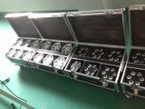 6PCS het Mini Professionele LEIDENE DMX PARI van de Was kan met Batterij voor de Disco van de Partij van het Huwelijk aansteken