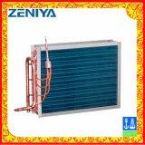 Efficace bobina del condensatore dell'aletta del rame del tubo di rame per l'unità esterna di CA