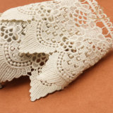 L30012 Hot Sale Water soluble 100 Cotton Lace for Lingerie