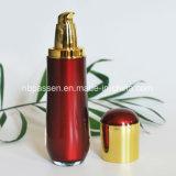 Colore rosso stabilito del nuovo lusso/bottiglia acrilica lozione dell'oro per le estetiche (PPC-NEW-106)