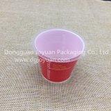 فنجان حمراء مستهلكة يطبع عقدة فنجان