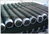 Rete metallica galvanizzata ricoperta PVC della rete fissa della rete metallica di collegamento Chain/del diamante