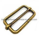 Antike Messingmetallplättchen-Ring-Faltenbildung