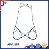 Guarnizione dello scambiatore di calore del piatto della guarnizione di Apv J107 del rimontaggio con qualità eccellente