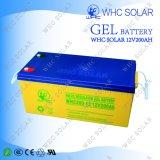 Batterie solaire rechargeable pour la mémoire à énergie solaire 200ah de l'électricité de système