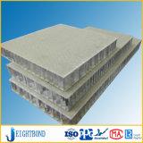 Los paneles baratos del panal de la fibra de vidrio del precio para la parte posterior de la piedra