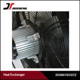 Réfrigérant à huile hydraulique en aluminium brasé d'excavatrice d'ailette de plaque de vide