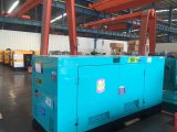 Бесшумный 30 Ква 50квт 80квт до 500 квт 1000ква новые звуконепроницаемых дизельного генератора