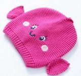 Шлем Knit животного типа Newborn акриловый