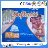 Ghana Mama Ba buena absorción del pañal desechable de bebé Fabricante