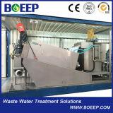 Instalação de desidratação de lamas móveis para Tratamento de Água Potável