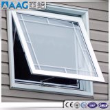 Janela de vidro superior com ventilação suspensa