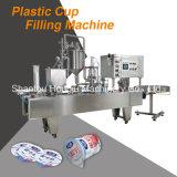 플라스틱 컵을%s 주문을 받아서 만들어진 단 하나 포일 밀봉 기계