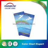 Glossy Paint Printing Color Chart pour la publicité