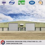Mémoire préfabriquée /Warehouse de structure métallique avec le certificat d'OIN