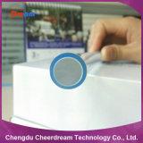 14mm grandes núcleos de fibra óptica da Vela Aquecedora laterais de plástico com revestimento transparente