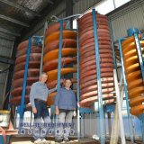 Équipement minier Gravitation Concentration Machine Spiral Chute