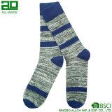 Calcetines de encargo de los hombres de la venta al por mayor del fabricante de Ningbo
