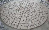 Pedra de calçada de granito piso de pedra de Lava pedra para Paisagem /Jardim/quintal