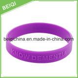 Wristband di gomma con il marchio impresso abitudine