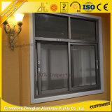 Подгонянное окно алюминиевых дверей алюминиевое с алюминиевой рамкой