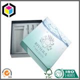 Rectángulo de empaquetado cosmético del papel de la cartulina del embutido del protector de la espuma