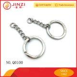 Supporto su ordinazione della catena chiave dell'anello chiave del metallo di modo della fabbrica