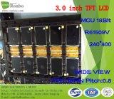 "3.0 "" 240*400 MCU 18bit 39pin, панель касания варианта ODM TFT LCD IC сопротивляющая"