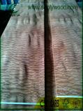 Pommel di legno naturale per le schede, mobilia, decorazione di Sapeli dell'impiallacciatura