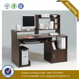 Bureau d'ordinateur de bureau OEM bureautique avec 2 armoires mobiles (HX_0185)