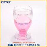 Vidrio de tiro plástico al por mayor flúido de refrigeración de taza del último estilo mini