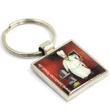 Promoção Custom Keychain Cmyk Printing with Epoxy