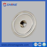 D25X8mm NdFeB Pot Magnet Magnetic Chuck with Axial Hole