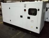 conjuntos de generador diesel silenciosos refrigerados por agua accionados Ricardo de 130kVA 104kw