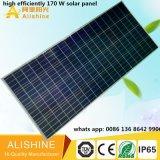 RoHS IP65 세륨을%s 가진 1개의 120의 W 태양 LED 빛에서 모두를 점화하는 옥외 LED