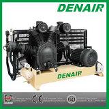 Compressor de ar de alta pressão Diesel industrial Oil-Free silencioso do pistão de Oilless