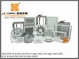 O piso amovível de alumínio de alta qualidade com a estrutura da grelha de ventilação