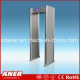 China-Hersteller-hoher Empfindlichkeits-Türrahmen-Metalldetektor mit 6zones