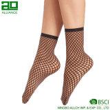2017 горячих сексуальных черных отвесных носок женщин Fishnet
