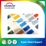 Catálogo de cartão profissional da cor da pintura da parede da arquitetura