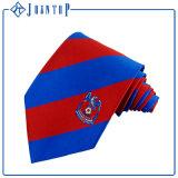 Et belle cravate uniforme tissée par soie Lumineux-Colorée