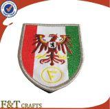 Emblema Handmade da correção de programa do bordado com logotipo feito sob encomenda para o presente