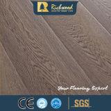 L'annuncio pubblicitario 8.3mm HDF AC4 ha impresso la pavimentazione laminata della quercia