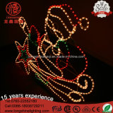 LED Rope Light Santa Claus avec Star Christmas Light for Holiday Éclairage Décoration