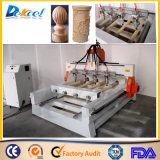 Router cilindrico rotativo di CNC di legno 3D di multi asse delle teste 4