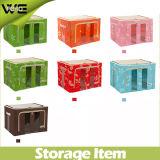 ファブリックFoldable簡単な折りたたみ食糧は収納箱に着せる