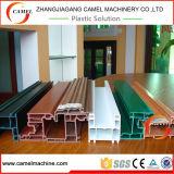 Linha de produção do perfil da porta do indicador do PVC