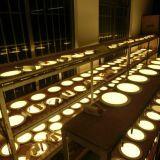 O painel redondo do diodo emissor de luz ilumina para baixo a oferta direta da fábrica