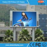 La publicidad exterior P10 a todo color de DIP346 Panel de pantalla LED