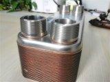 Cambiador de calor cubierto con bronce de la placa para la pompa de calor aire-agua